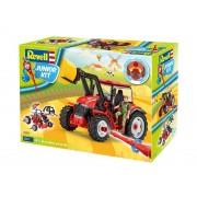 Junior Kit Tractor 00815 - Tractor cu incarcatoare incl. figura (1:20)