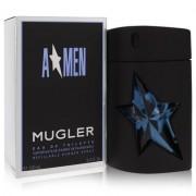 Angel For Men By Thierry Mugler Eau De Toilette Spray Refillable (rubber) 3.4 Oz
