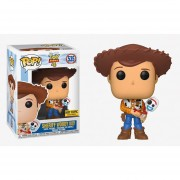 sheriff woody con forky Funko pop exclusivo Hot topic