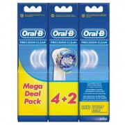 Oral-B Precision Clean - 6 Opzetborstels