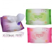 Refreshing facial wipes - Pack of 3