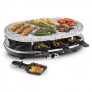 Steaklette Raclettegrillгрил с чиния от гранитза 8 човека - 1500W