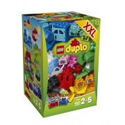 Lego Year 2015 Duplo Series Set #10622 - LARGE CREATIVE BOX with Train in Mountain