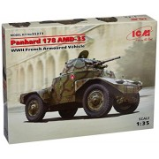Icm Models Panhard 178 Amd 35 Wwii French Armoured Model Kit