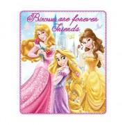 Disney Fleece deken Disney Princess voor meisjes