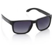 Flying Machine Rectangular Sunglasses(Blue)