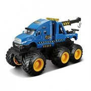 Fresh Metal - Builder Zone: Quarry Monsters Tow Truck 24191T by Maisto (One Item Only Random Color)