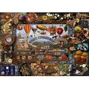 Steampunk 1000 Piece Jigsaw a Lois Sutton classic collage