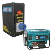 Benzinmotoros áramfejlesztő +HAV1 indító automatika, max. 5500VA, egyfázisú, önindítóval (8896115-AU