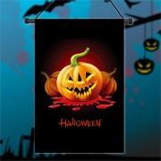 30x45cm Halloween Polyester Demon Pumpkin Flag Garden Holiday Decoration
