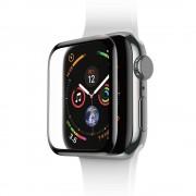 Baseus Curved Screen Tempered Glass - калено стъклено защитно покритие с извити ръбове за дисплея на Apple Watch 42 mm (черен)