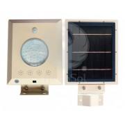 Lampa stradala LED, cu panou solar si acumulator Li-Ion integrat