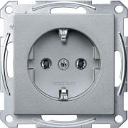Schneider Electric Электрическая розетка Schneider Electric Merten System M MTN2301-0460 Алюминий