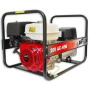 WAGT 200 AC HSB SE Generator sudura de santier , motor Honda OHV 13 Cp , sudura 200 A