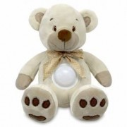 Ursulet de plus Baby Mix Puff Bear Crem