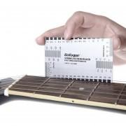 EH Durable Herramienta Calibre De Cuerdas Acción Gobernante En / Mm Para La Guitarra Baja De La Mandolina Del Banjo