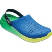Crocs Men Blue Jean/Tennis Ball Green Sandals