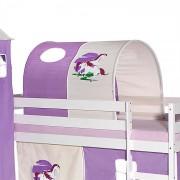 IDIMEX Tunnel pour lit surélevé, motif Licorne