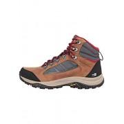 Columbia Zapatos de Senderismo para Mujer 100 MW Mid Outdry, Grafito, Remolacha, 6 US