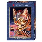 Heye Pussel - Fine Art Precious Animals, Mysig Katt 1000 Bitar