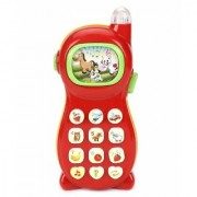 Learning Mobile Phone Toy for Kids with Image Projection Multi Color