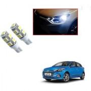Auto Addict Car T10 9 SMD Headlight LED Bulb for Headlights Parking Light Number Plate Light Indicator Light For Hyundai Elite i20