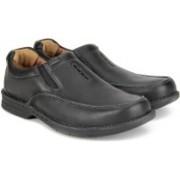 Clarks Untilary Easy Black Leather Formal Slip on For Men(Black)