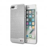 BMW Ochranný kryt pro iPhone 7 PLUS / 8 PLUS - BMW, Carbon Aluminium Silver
