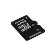 Cartão de Memória Kingston 32GB MicroSDHC com Adaptador SD (classe10)