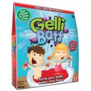 MolliToys Gelli Baff, Förvandlar ditt badvatten till gegga, 600 g (Blå)
