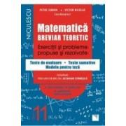 Matematica - Clasa 11 - Breviar teoretic filiera teoretica profilul real stiinte ale naturii - Petre Simion