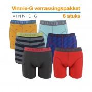 Vinnie-G Boxershort Verrassingspakket 6-pack -L