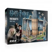 Wrebbit 3D Harry Potter Hogwarts Great Hall Jigsaw Puzzle - 850 Pieces