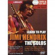 Roadrock International Lick Library: Learn To Play Jimi Hendrix - The Solos DVD