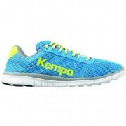 Kempa Freizeitschuh FLY HIGH K-FLOAT - ash blau/spring gelb | 38