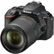 Nikon D5600 DX-Format Digital DSLR, w/ 18-140mm VR Black, 24.2MP,5fps, ISO to 25,600, HD