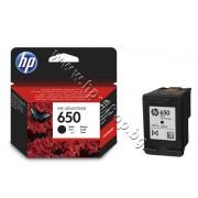 Касета HP 650, Black, p/n CZ101AE - Оригинален HP консуматив - касета с глава и мастило