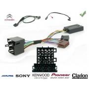 COMMANDE VOLANT Citroen Berlingo 2009- - Pour SONY complet avec interface specifique