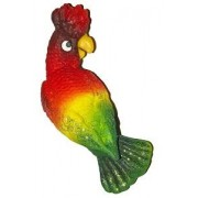 Papuga tyłem - magnes