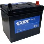 EXIDE Excell EB604 60Ah 390A ASIA autó akkumulátor jobb+ (+AJÁNDÉK!)