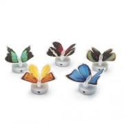 LED-es színváltó pillangó