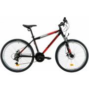 Bicicleta Mtb Venture 2621 S negru rosu 26 inch