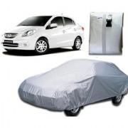 Autoplus car cover for Honda Amaze Car Body Cover Silver Color.