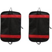 PRAHAN INTERNATIONAL Men's Coat Blazar Cover Bag Suit cover Pack of2 PIS-C2B051(Black)