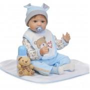 55 Cm Souple En Silicone Poupée Reborn Baby 22 Bébé Cadeau D'anniversaire Pour Enfant Nouveau-Né Garçon Coucher Éducation Précoce Jouet Pour Filles