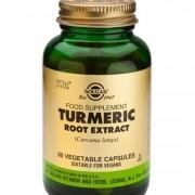 Solgar Turmeric Root Extract 60 kapslar