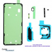 Set Completo Adesivi Biadesivo Samsung Galaxy S9 PLUS Rework GH82-15964A Impermeabile Sigilli Riparazione Scocca