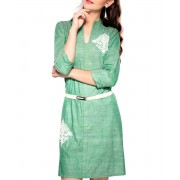 Cotton Khadi Dress