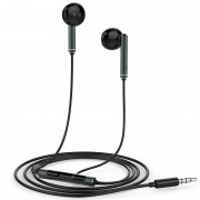 OEM AM116 HUAWEI 3.5mm In-ear Earphone with Mic for iPhone Samsung Huawei - Black