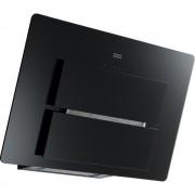 Hota Franke Maris FMA 807 BK 330.0507.740, Decorativa ecran, Capacitate 720 m3/H (intensiv, mod evacuare), 3 viteze+intensiv, Touch control, Functie oprire automata, Latime 80 cm, Cristal negru